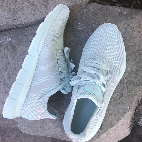 Adidas Swift Run W Vapor Green Grey